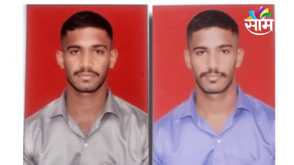 Twins from Osmanabad Joined Army in Frist Attempt