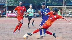 Goa Vs Sikandrabad Fight Gadhinglaj Football Competition