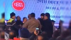Fist Fight At Delhi Cricket Body Meet