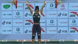 Asian Weightlifting Championship, Gold Medal, Jhilli Dalabehera