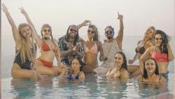 chris gayle, jamaica to india music video