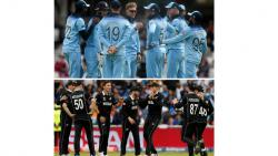 World Cup 2019 final match between England and New Zealand