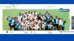 Google , digital crackers,  indian cricket team