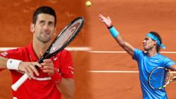 french open 2020, novak djokovic,rafael nadal