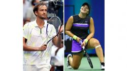 Daniil Medvedev and Bianca Andreescu impressed all tennis lovers in US open 2019
