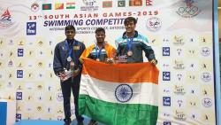 Mihir Ambre wins 2 medals in 13th South Asian games