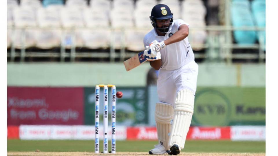 Rohit Sharma scores 11th Half Century in test cricket in 1st test against South Africa