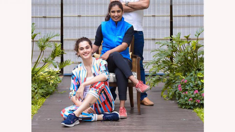 Tapsee Pannu to act in Biopic of Mithali Raj