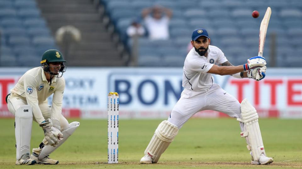 Virat Kohli scores Century against South Africa in 2nd test