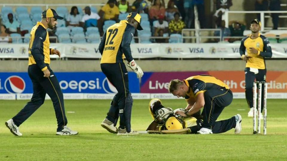 Andre Russell Hospitalized After Suffering Nasty Blow On Head