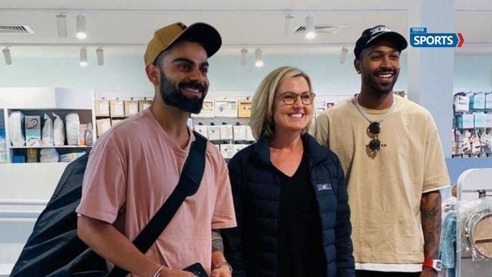 Australian Media Accuses Star Indian star cricketer virat kohli hardik pandya COVID 19 Protocol Breach