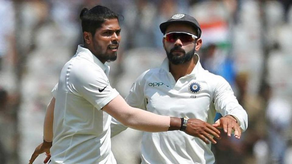Umesh Yadav makes a superb comeback in test cricket against South Africa