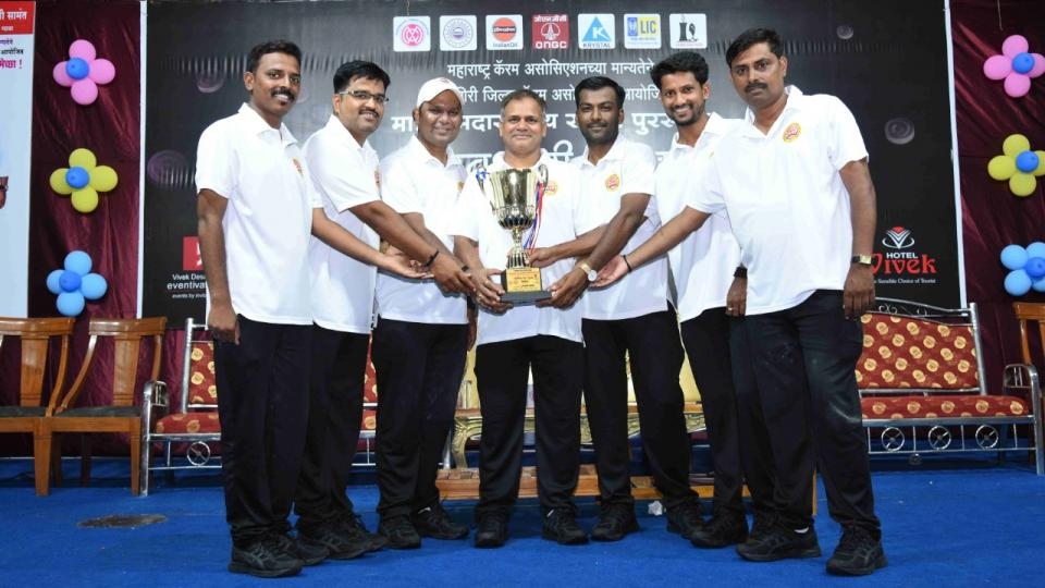 Pune wins in state level carrom competition