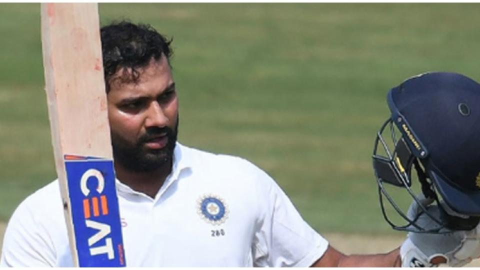 rohit Sharma Test Sakal.jpg