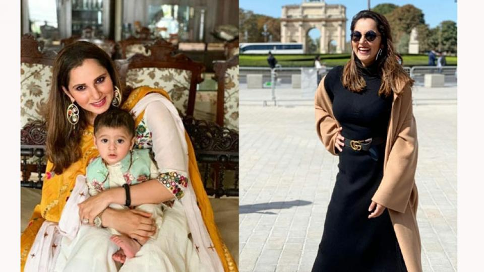 Sania Mirza reveals post pregnancy weight loss journey