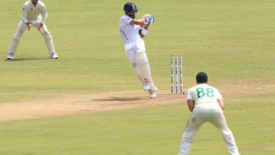 Virat Kohli scores Double Century in 2nd test Against South Africa