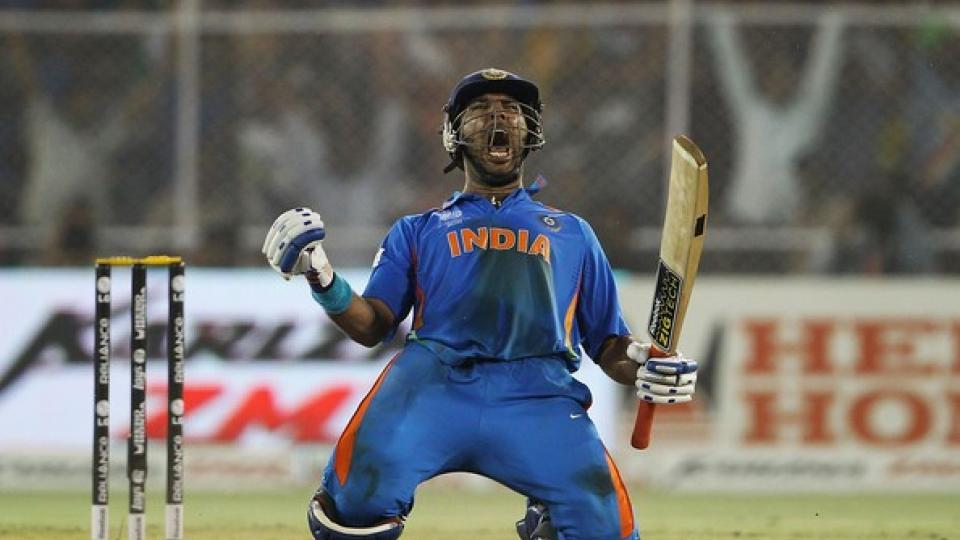 Birthday Wishes pour on Yuvraj Singh as he turns 38
