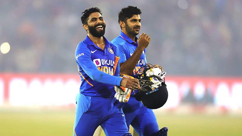 INDvsWI India beat West Indies by 4 wickets