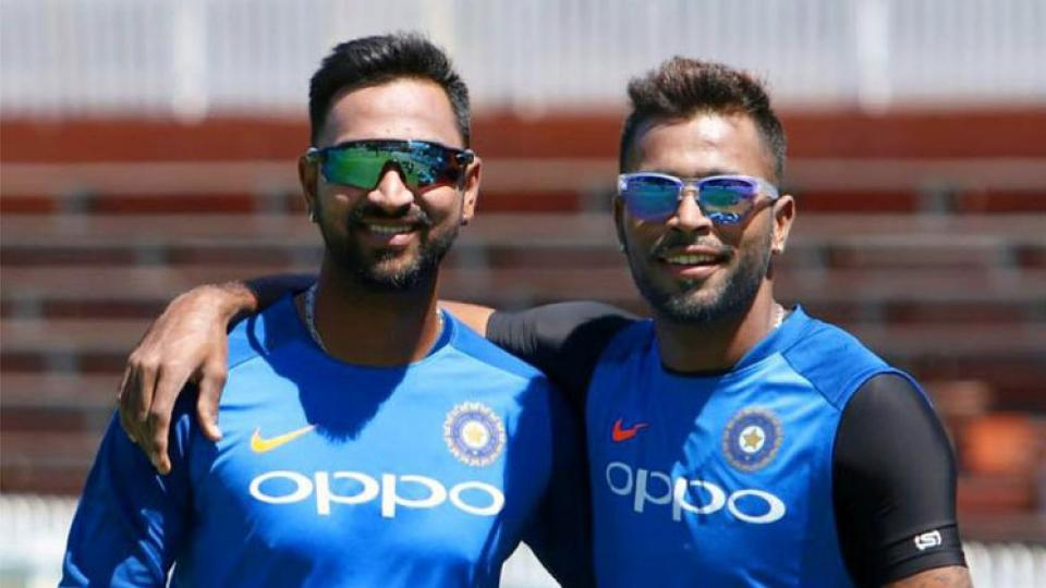 Pandya Brothers fight on twitter before INDvsSA