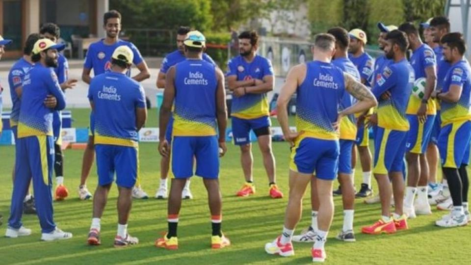 ipl 202, chennai super kings, tests positive for covid 19
