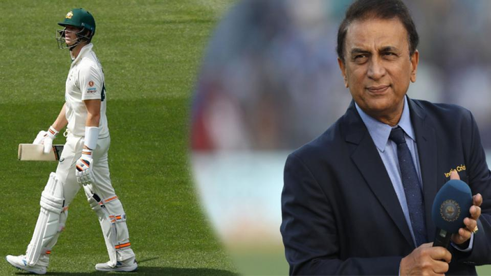 Smith and Sunil Gavaskar Sakal.jpg
