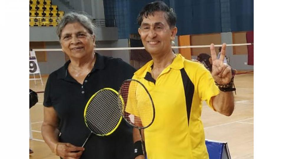 All Indian Masters Badminton mix doubles result