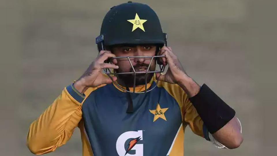 pakistan captain , babar azam,  babar azam ruled out of t20 series