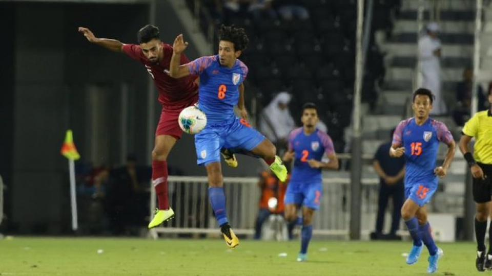 India hold Asian Champions Qatar to goal less draw in FIFA World Cup qualifiers
