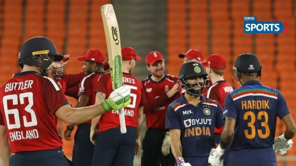 India vs England 3rd T20I, india loss Against England, Cricket News In Marathi
