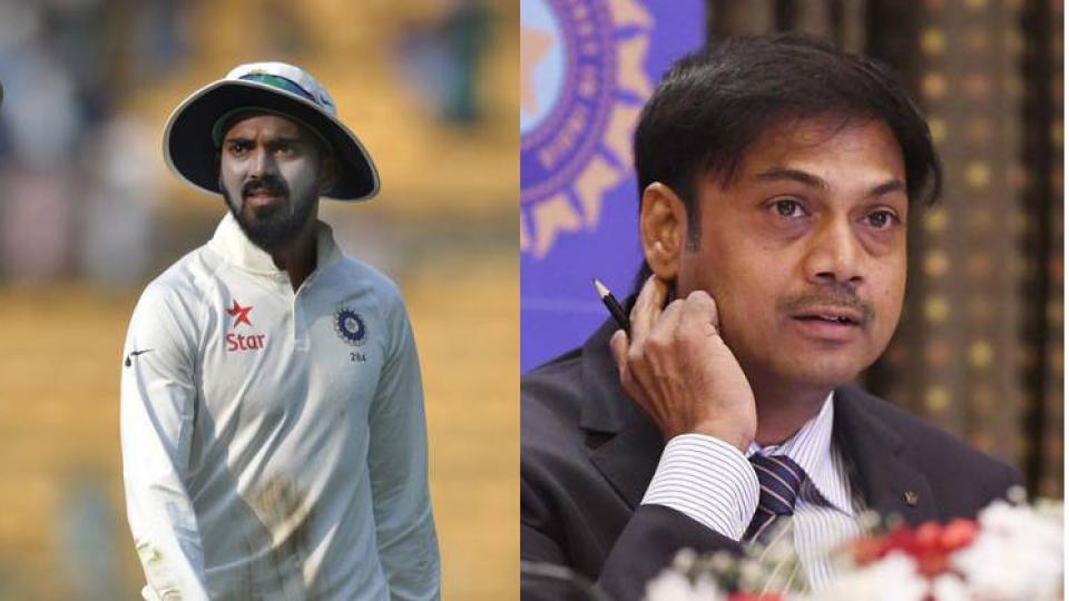MSK Prasad gives an advice to KL Rahul after being dropped from Indian Team