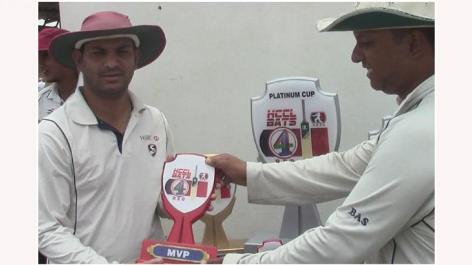 Virendra Naik died during a match in hyderabad due to heart attack