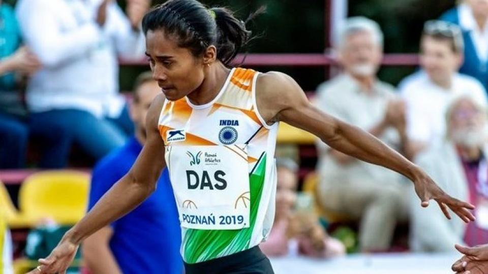 Hima das could not be part of IAAF world Championship Doha 2019