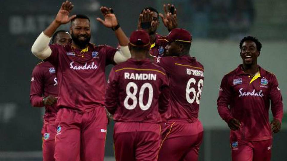 West Indies announced ODI and T20 squad for India tour