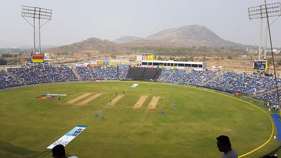 India vs South Africa in Gahunje stadium Pune