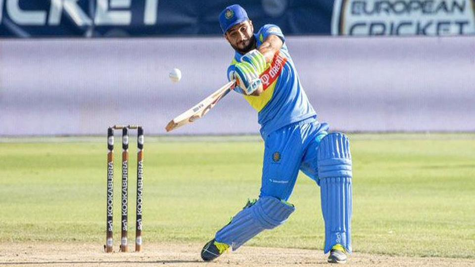 This player smash a century in just 28 balls in European Cricket League