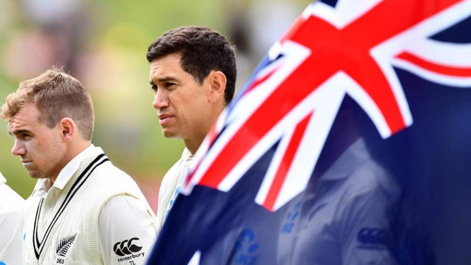 Ross Taylor completes 100 tests for New Zealand gifted with 100 wine bottles