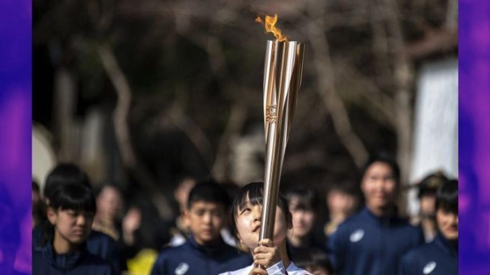 Olympic torch relay, COVID 19 cases, Japan