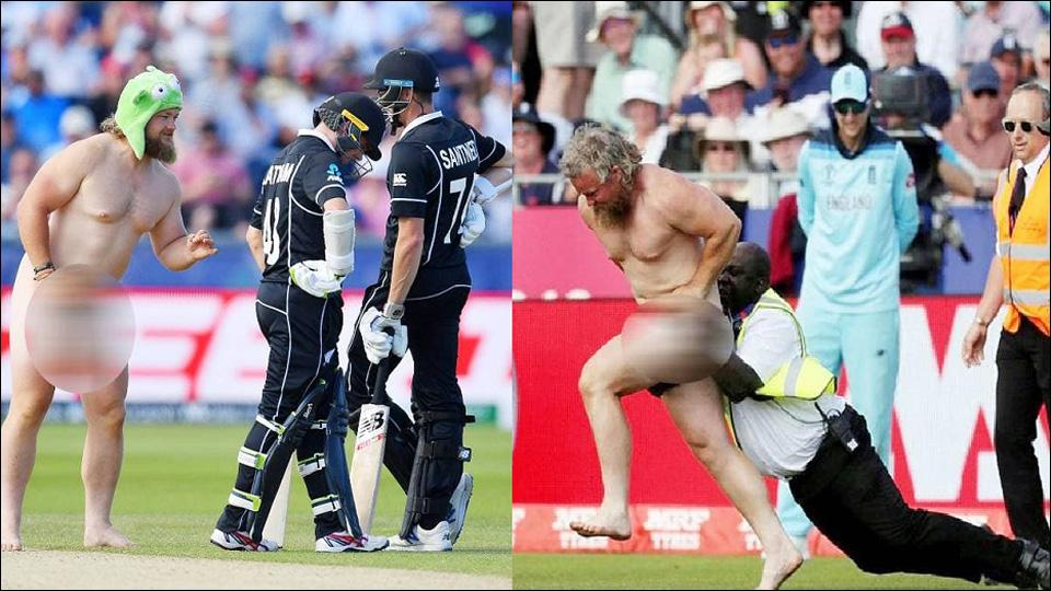 naked man enter in ground during eng vs nz match video viral
