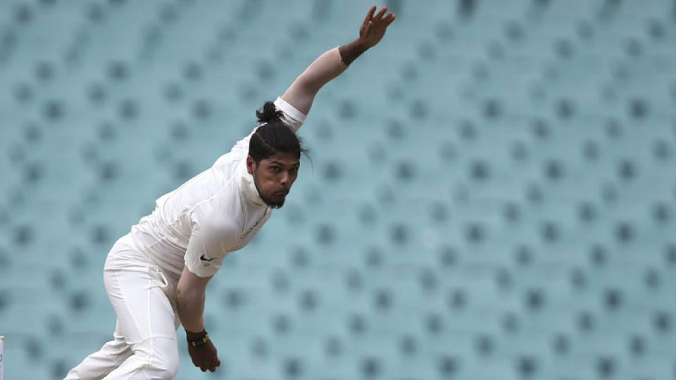 Umesh Yadav takes a wicket of Aiden Markram in 2nd test against South Africa