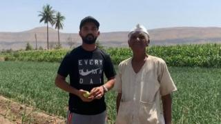 Article on Ajinkya Rahane helping Farmers from Usmanabad by Harshada Kotwal