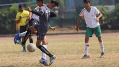 Football match result in Schoolympics 2019 competition :