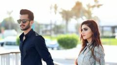 Hassan Ali and his Indian fiancee do a pre wedding photo shoot in Dubai