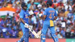 Shreyas Iyer and Rishabh Pant made fifties to take India past 287