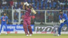 West Indies has already hit most sixes in 2 T20 matches against India