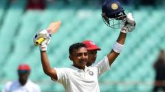 Prithvi Shaw scores a double century against Baroda in Ranji Trophy 2019