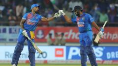 Rohit Sharma and Shikhar Dhawan Register Most Number Of 100 plus Partnerships
