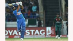 Rohit Sharma hits Most Sixes in International matches in a calendar yea
