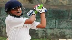 Son of Rahul Dravid samit scores 2 double centuries in 2 months