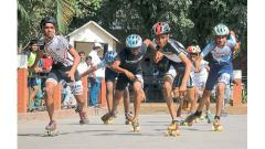 kolhapur Mapro Schoolympixcs  Skating Competition