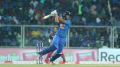 INDvWI Shivam Dube first 50 helps Team India post 170 score